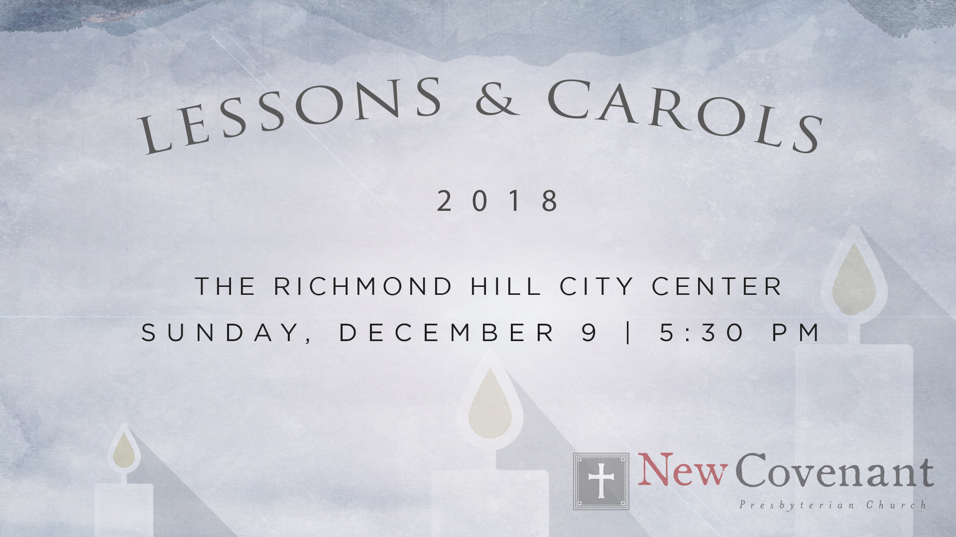 2018 LESSONS AND CAROLS image