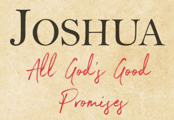 Joshua All God's Good Promises crop image