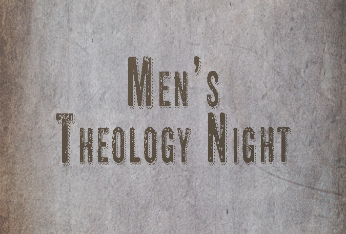 Men's Theology Night image