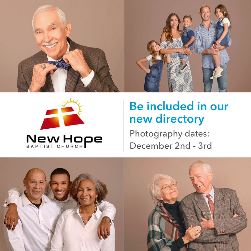 Member Sign-up Graphic - New Hope Baptist Church image