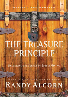 The Treasure Principle by Randy Alcorn Book Cover