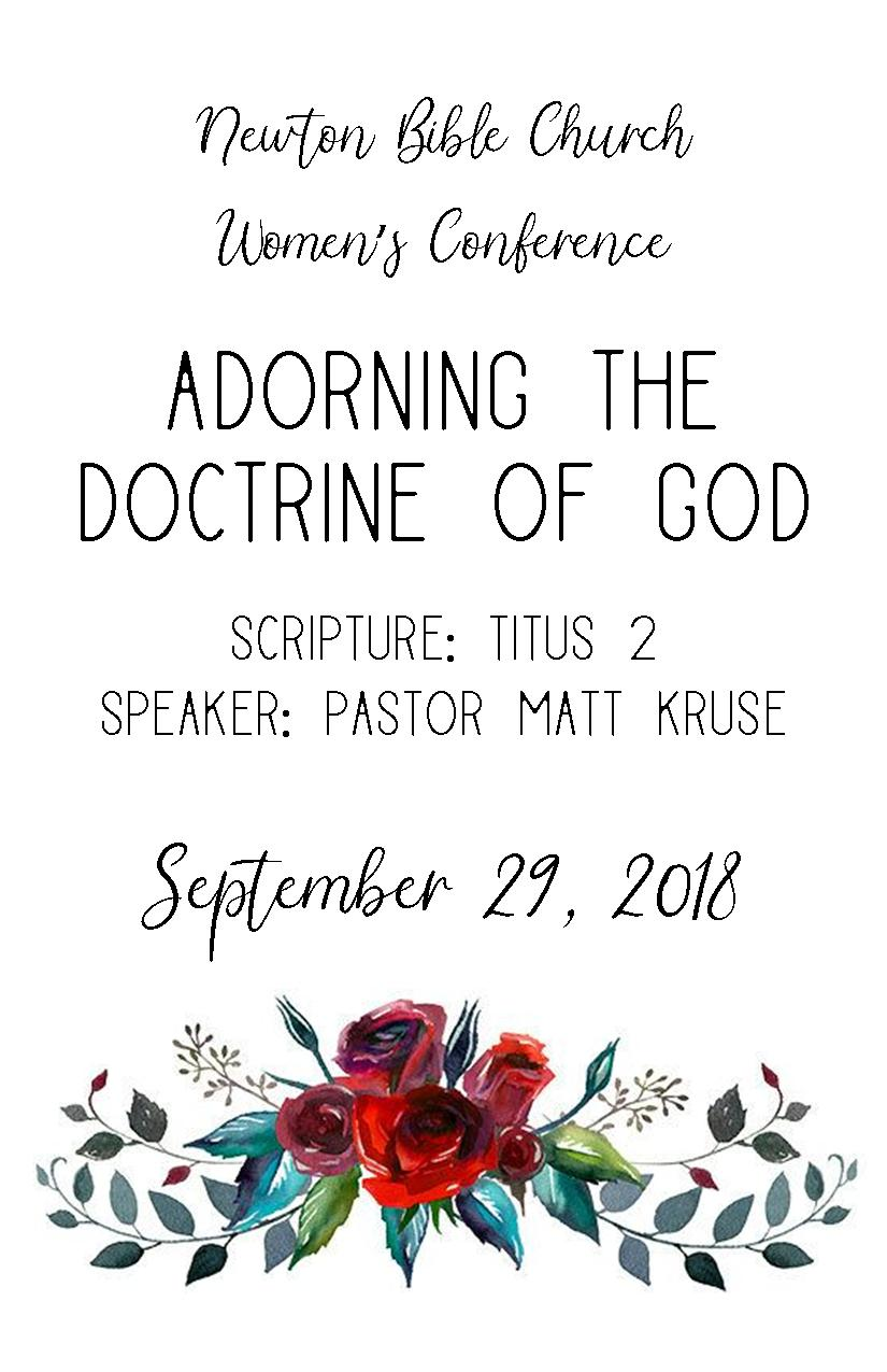 Women's Conference 2018