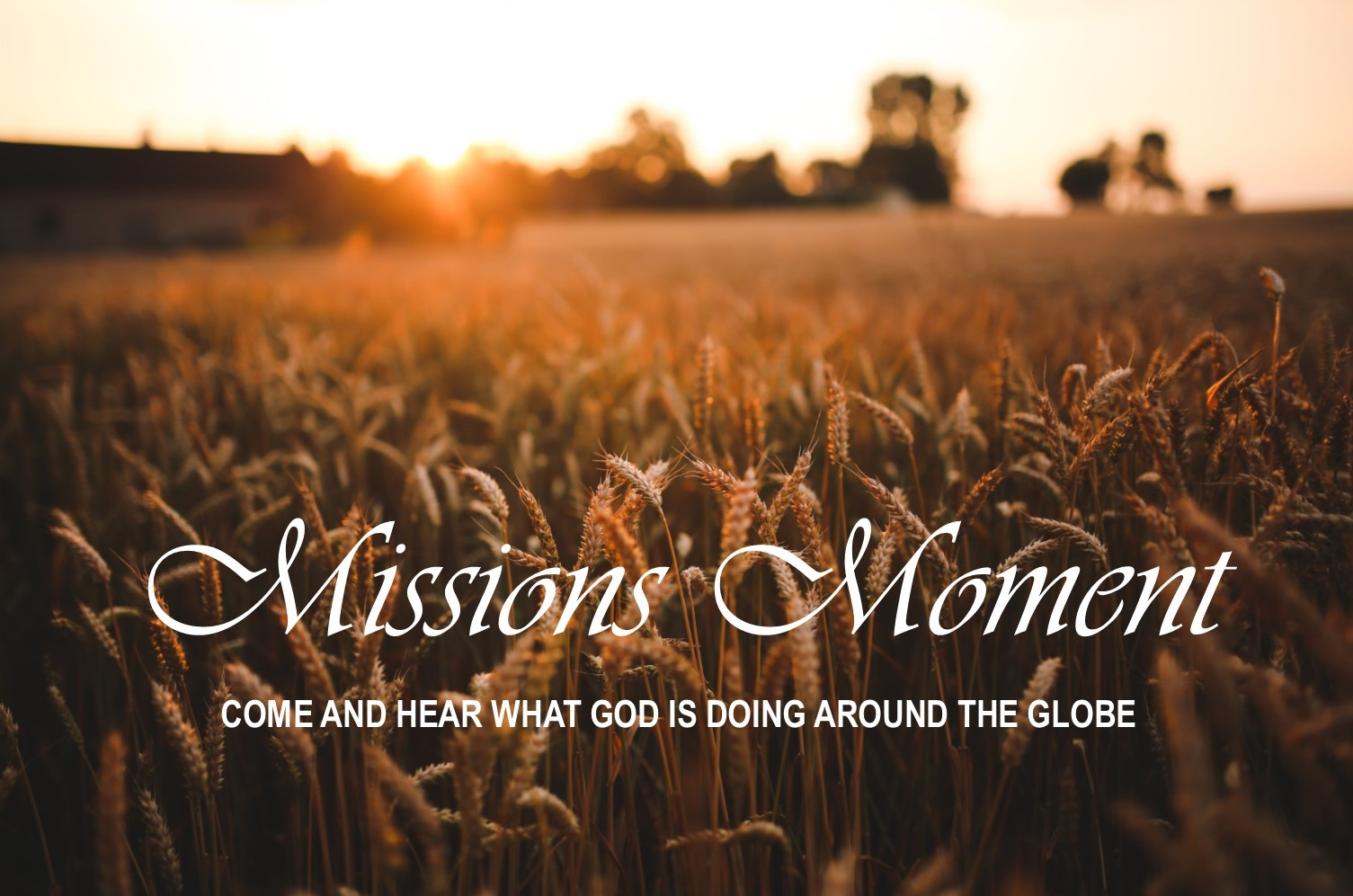 Missions Moment Image image