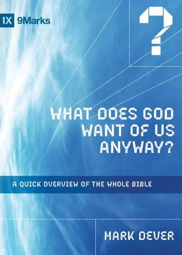 What does God want of us anyway