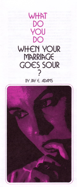 what to do marriage sour