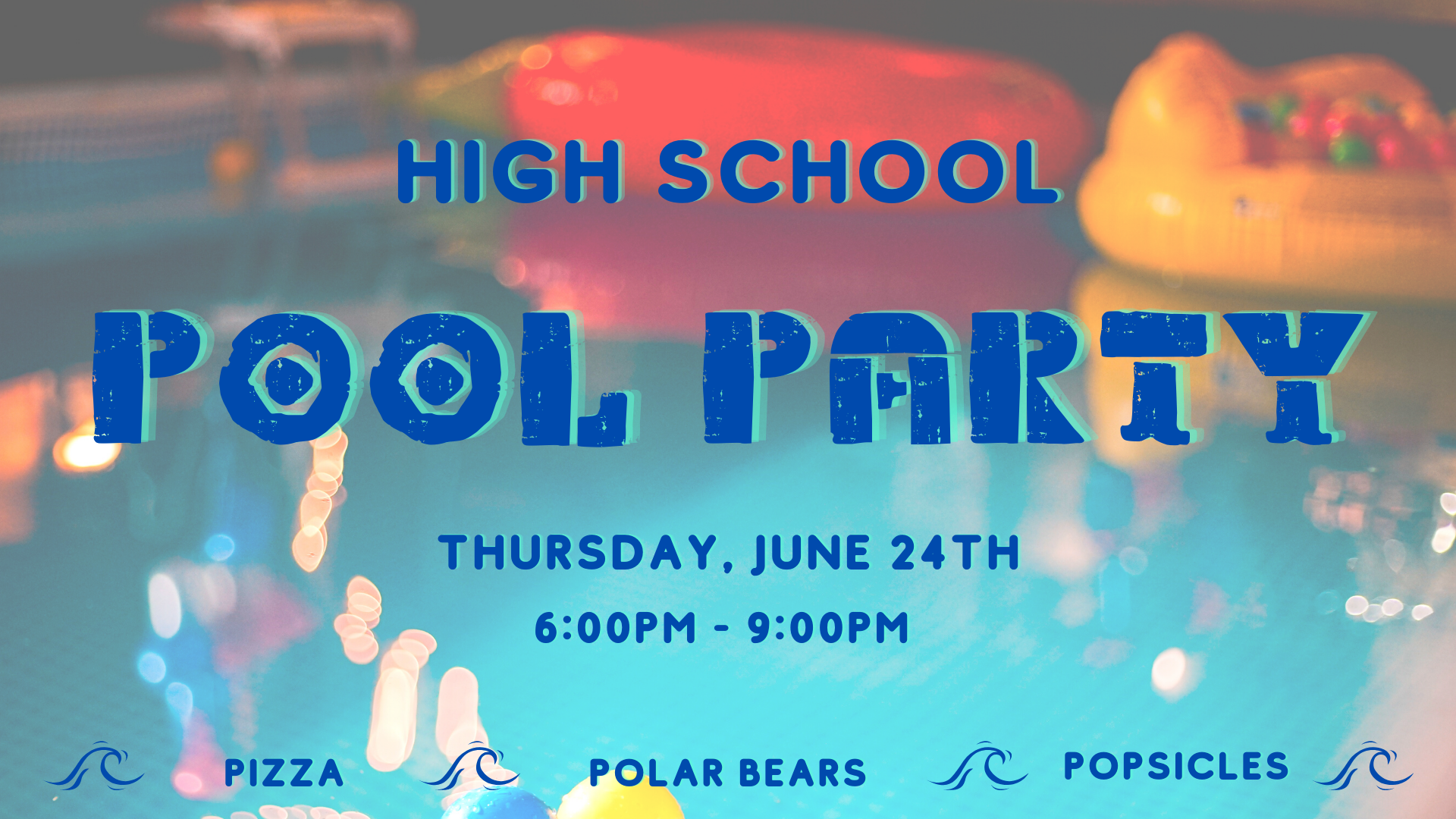 hs pool party