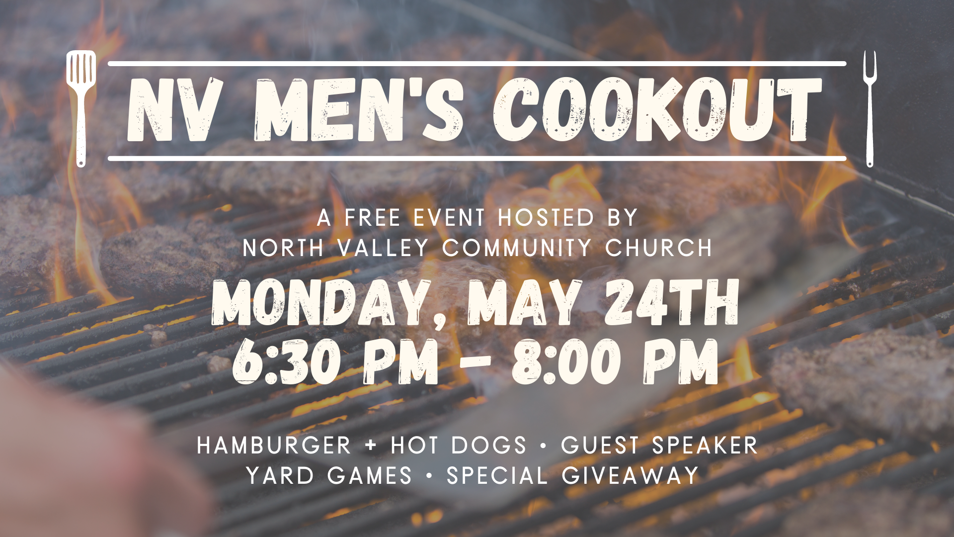 NV MEN'S COOKOUT (MAY)