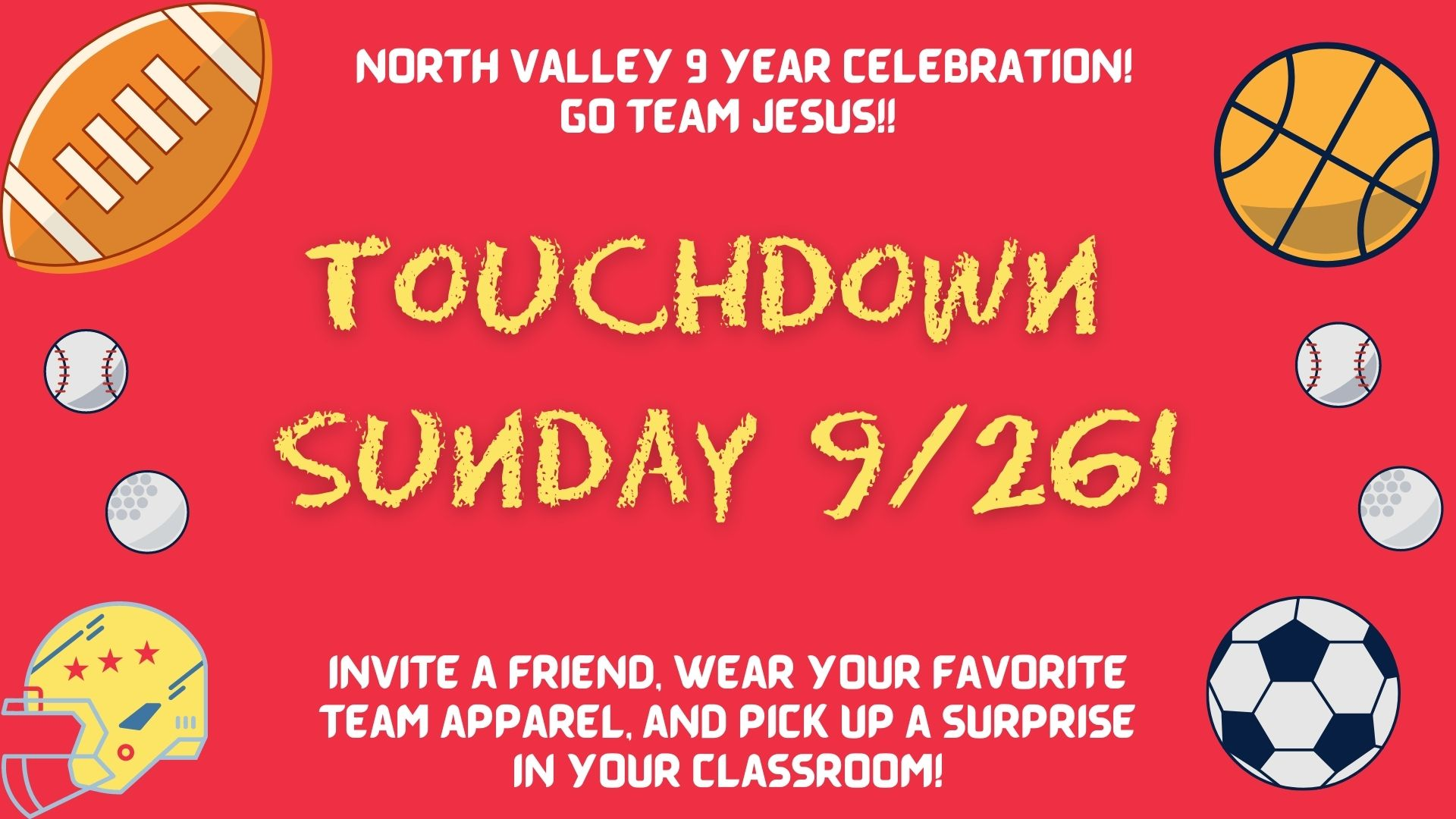 Touchdown Sunday image