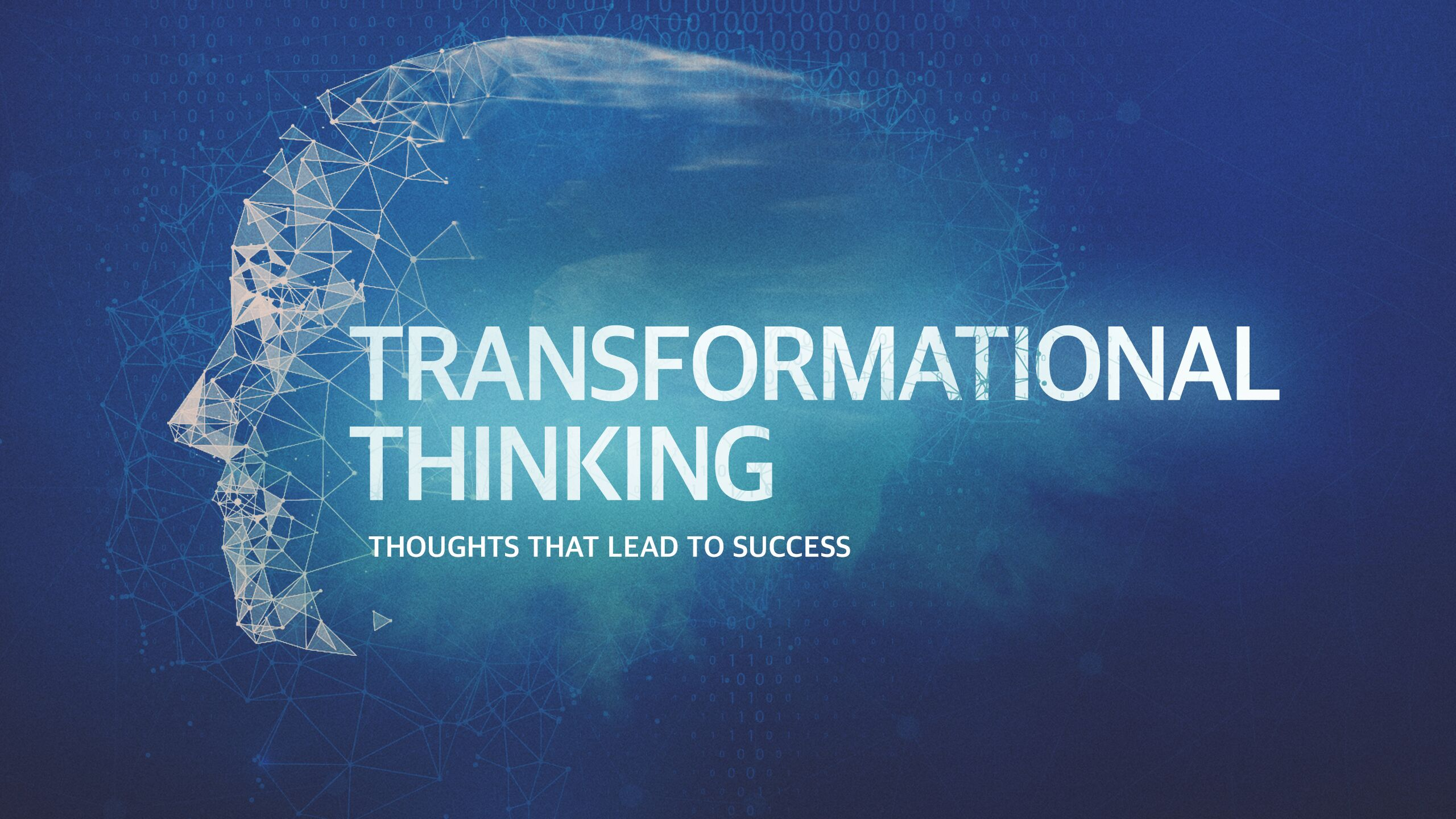 Transformational Thinking