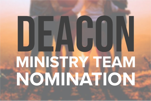 Deacon Nomination Event image