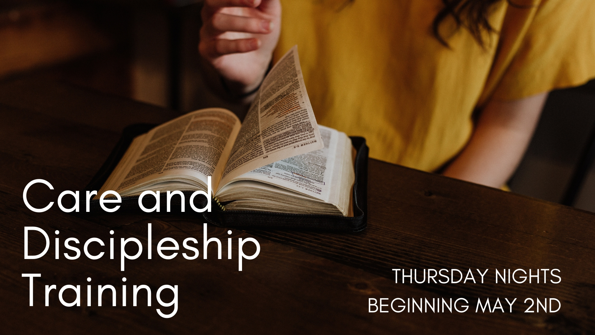Copy of Care and Discipleship Training