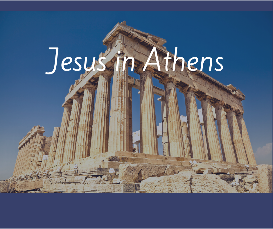 Jesus in Athens viewing image