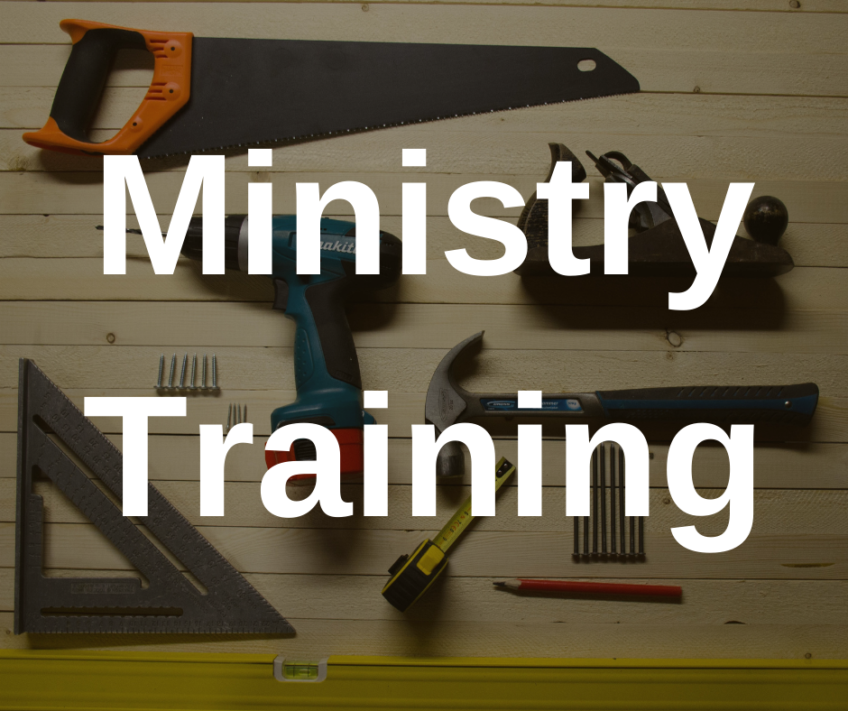 Ministry Training banner