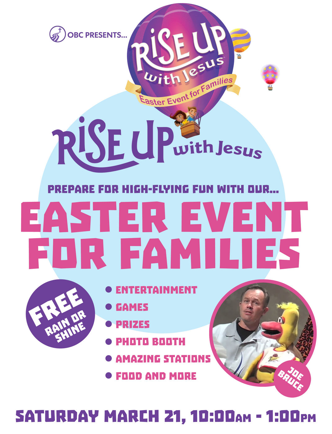 Rise Up Flyer 2015
