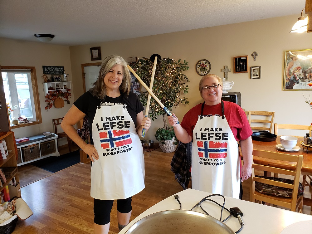 Lefse Talents Cooking Share