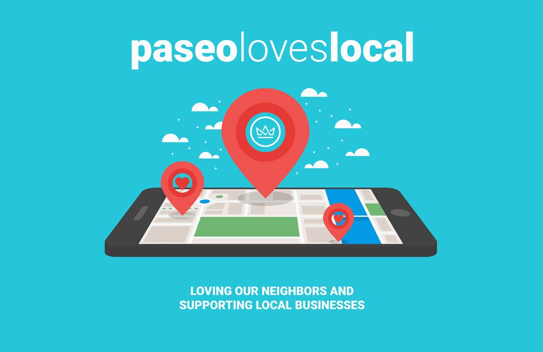 Paseo Loves Local Web