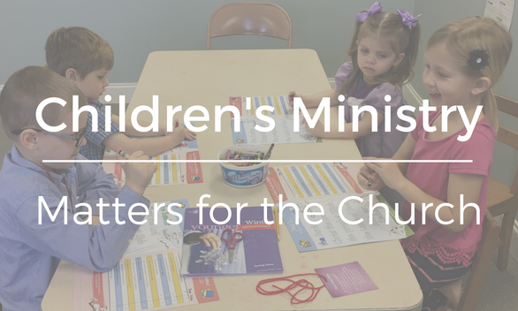 Childrens Ministry Matters