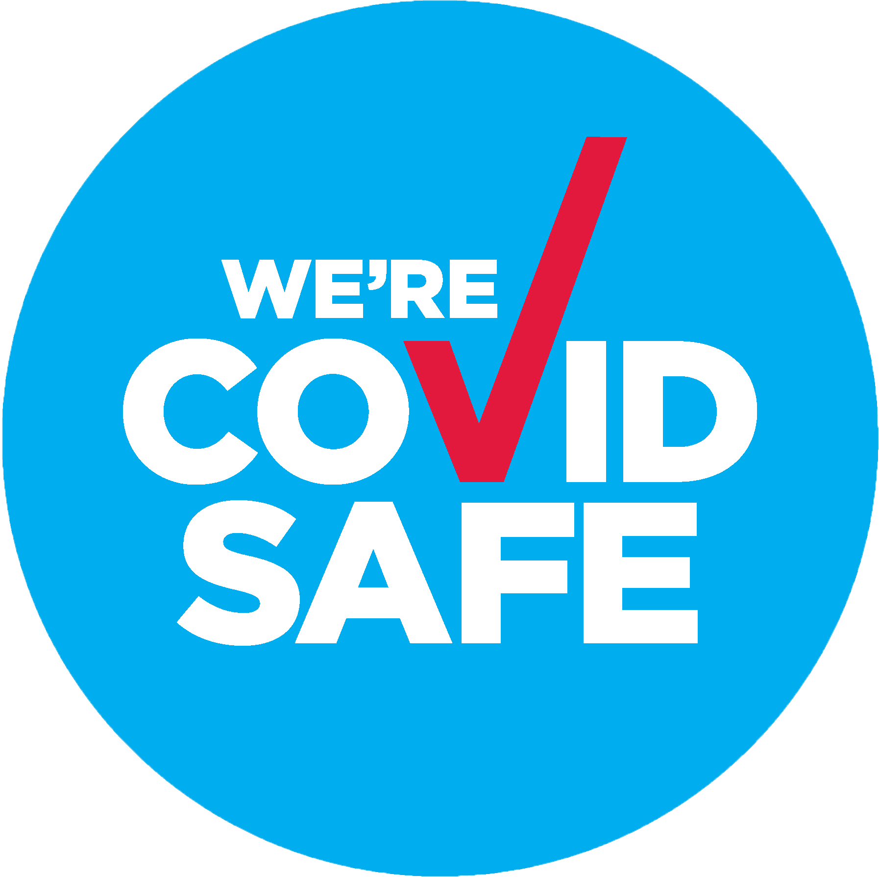 COVID_Safe_Badge_A3 - black