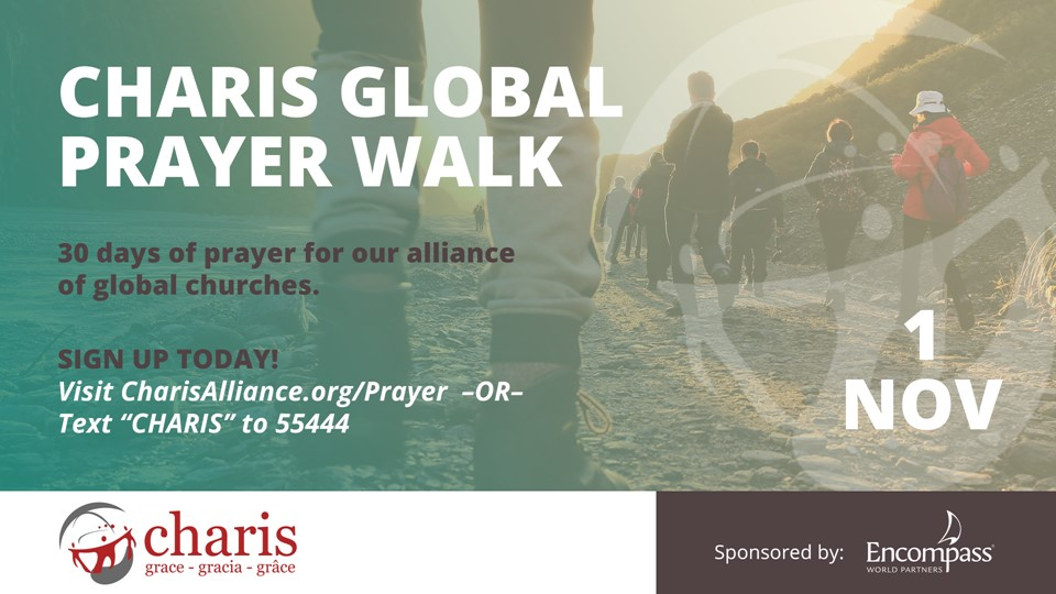 Charis Global Prayer Walk 2020