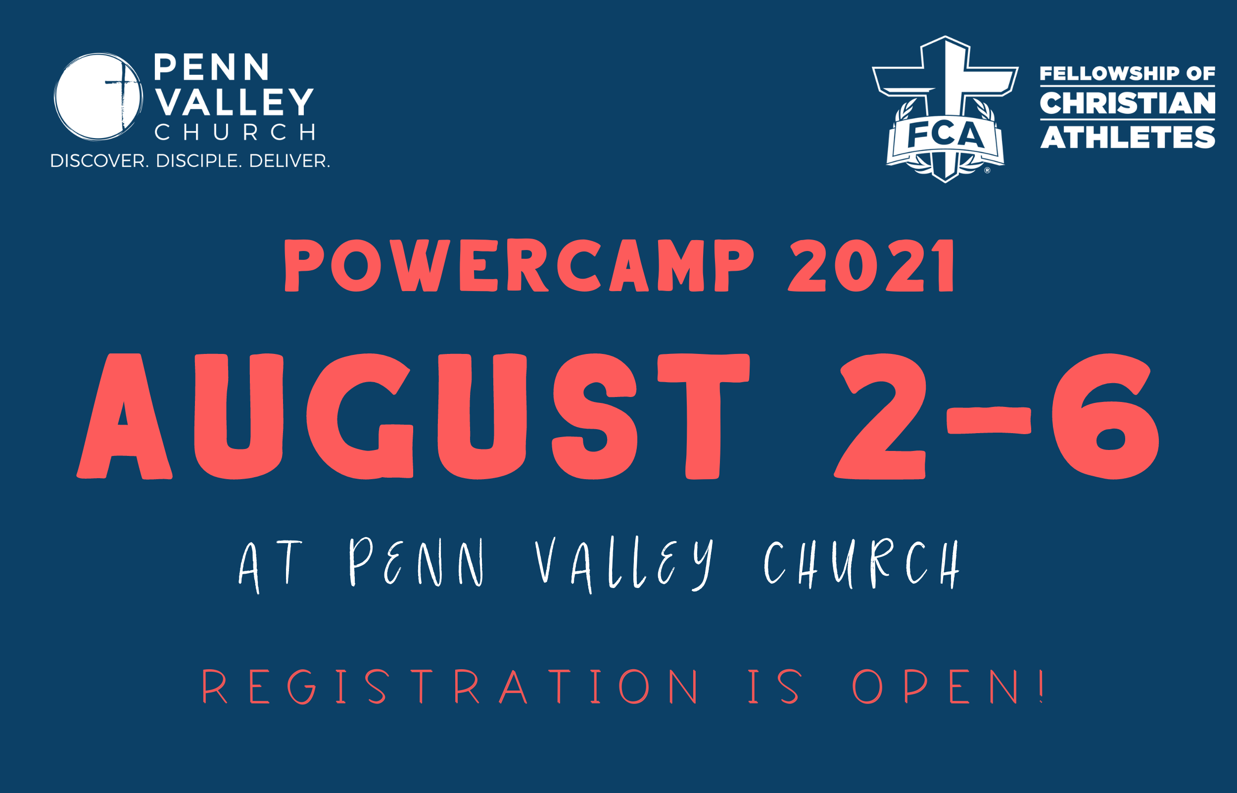Power Camp 2021 - Now Open