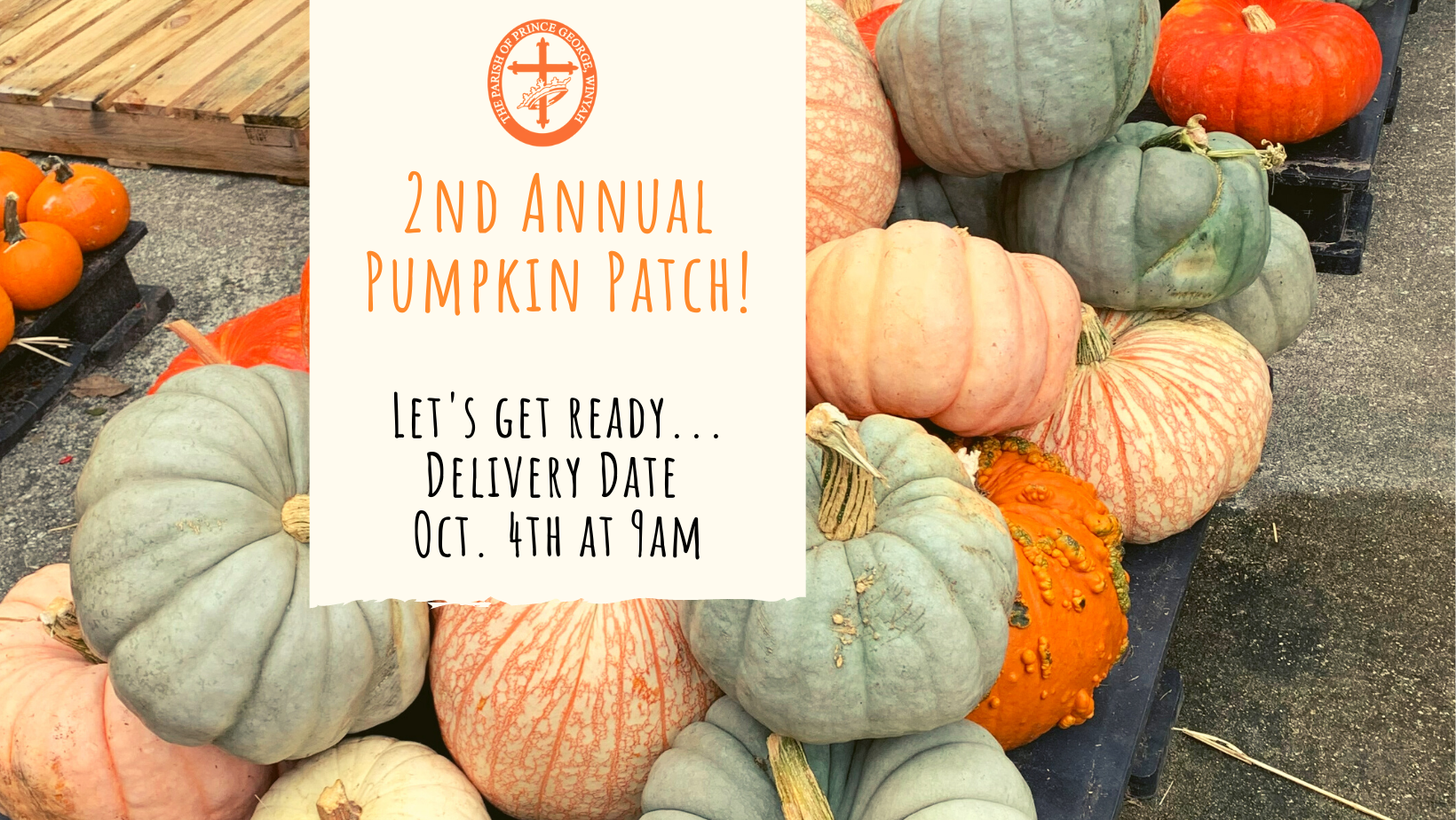 Unloading and Pumpkin delivery (Facebook Cover) image