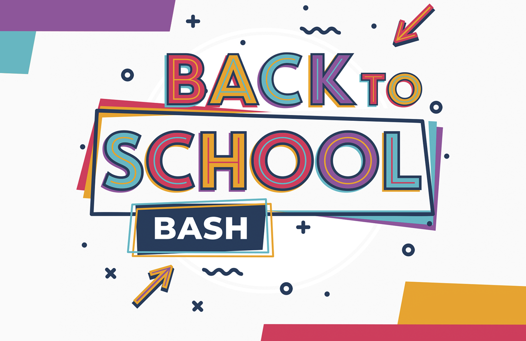 Back to School Bash 2019 Event Graphic image