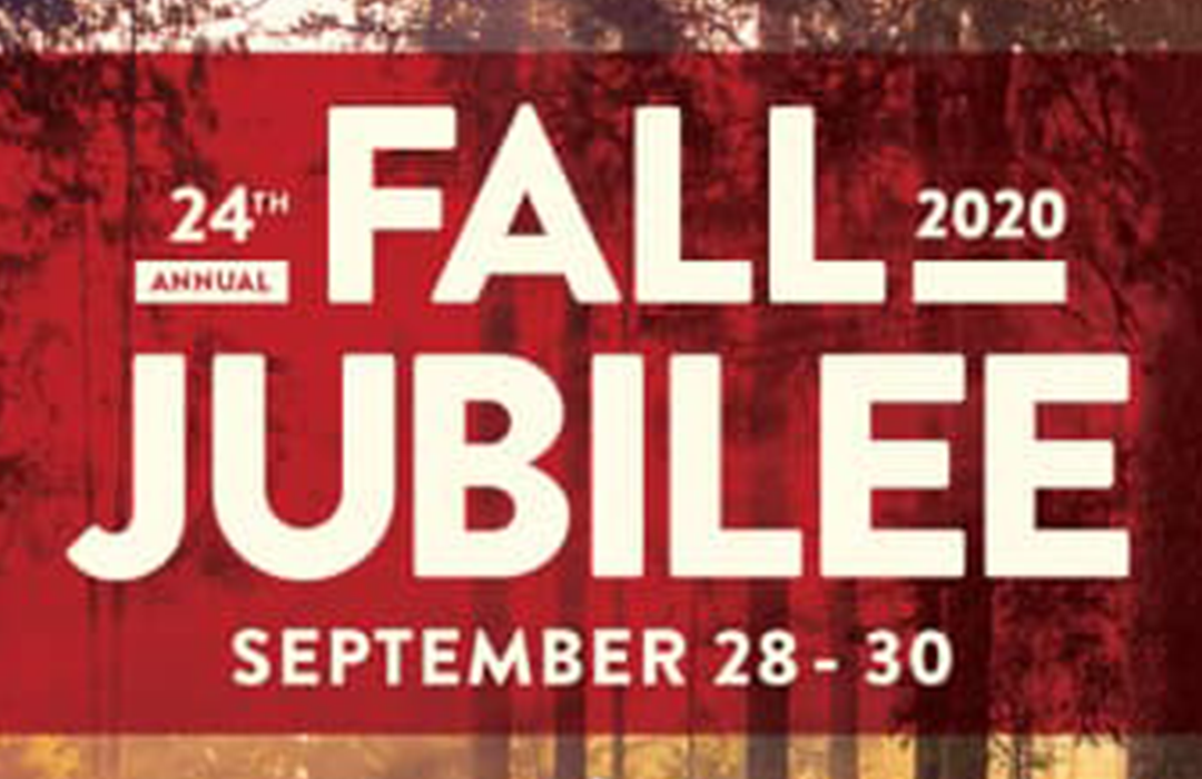 Fall Jubilee Event Graphic image