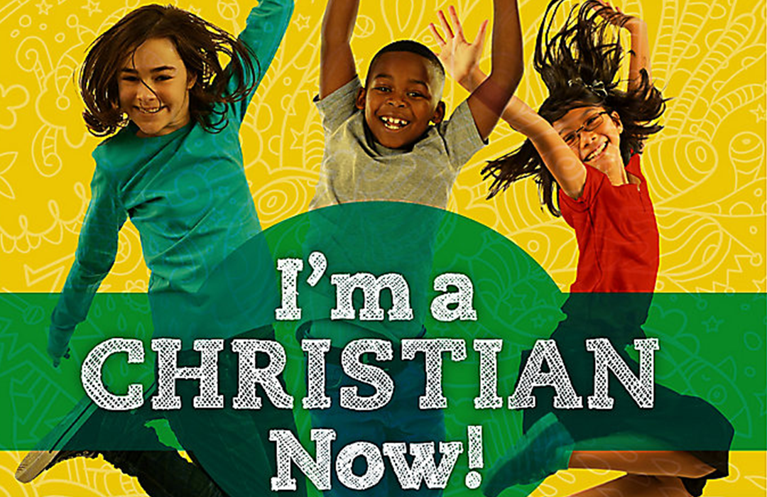 I'm a Christian Now Event Graphic image