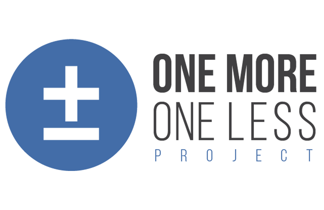 One More One Less Project Graphic