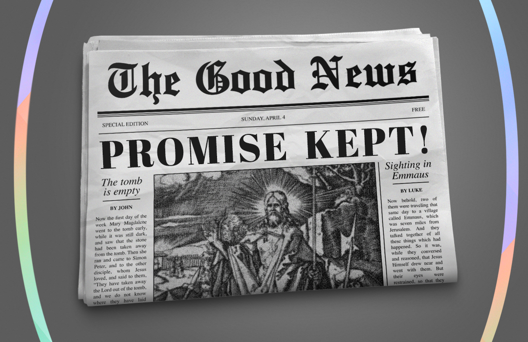 Promise Kept Message Graphic