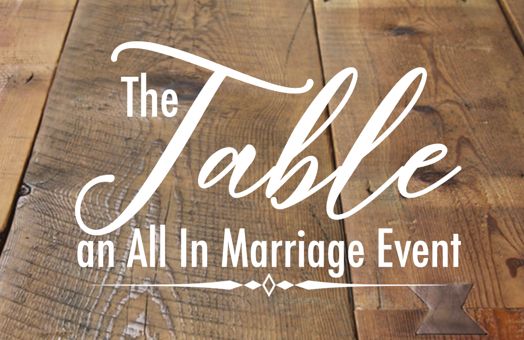 The Table Event Graphic