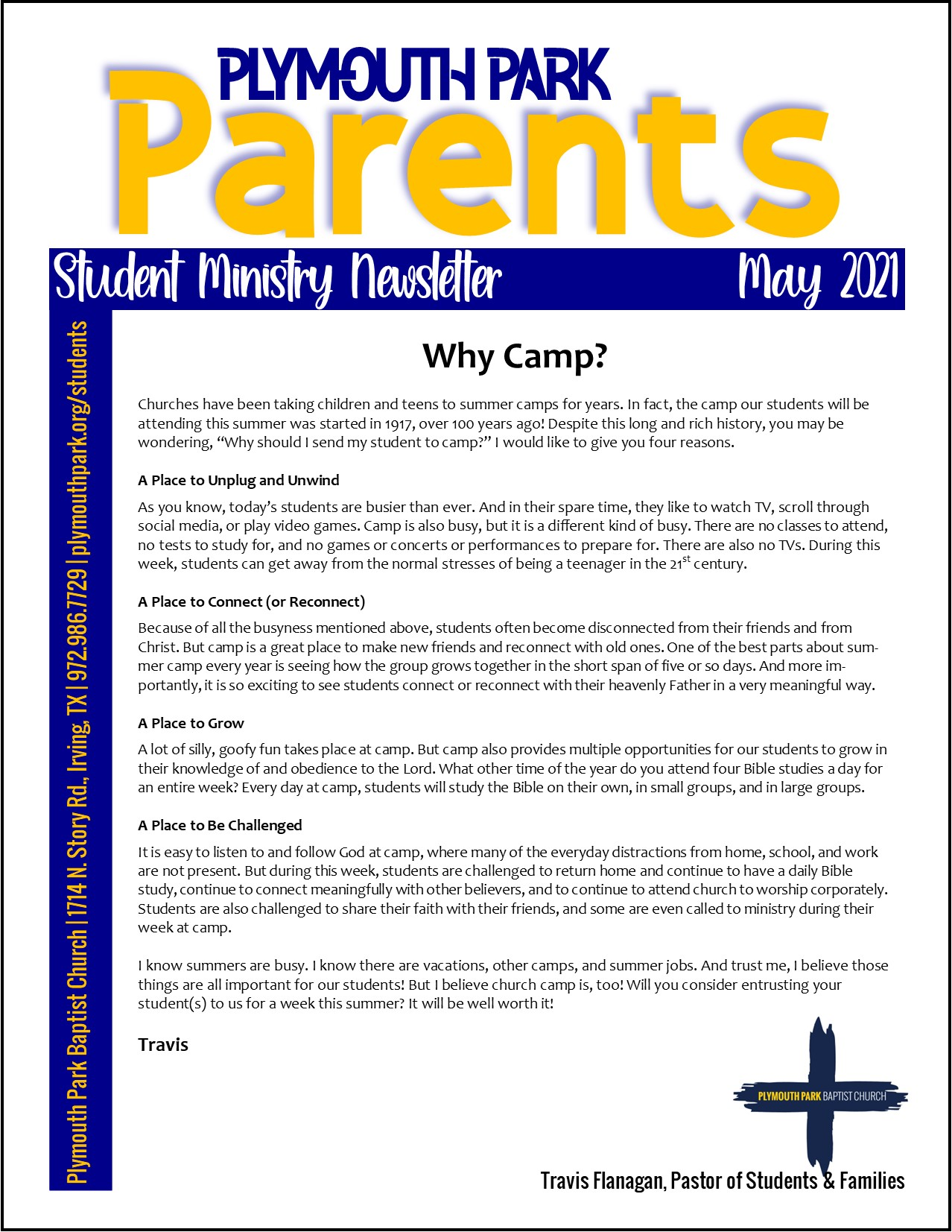 Website Parent News May Page 1