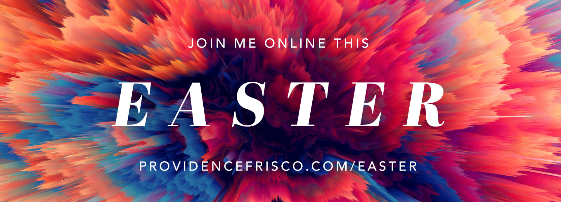 Join Me Online This Easter
