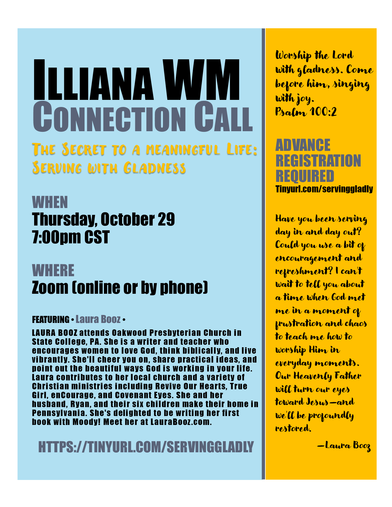 Connection flyer photo