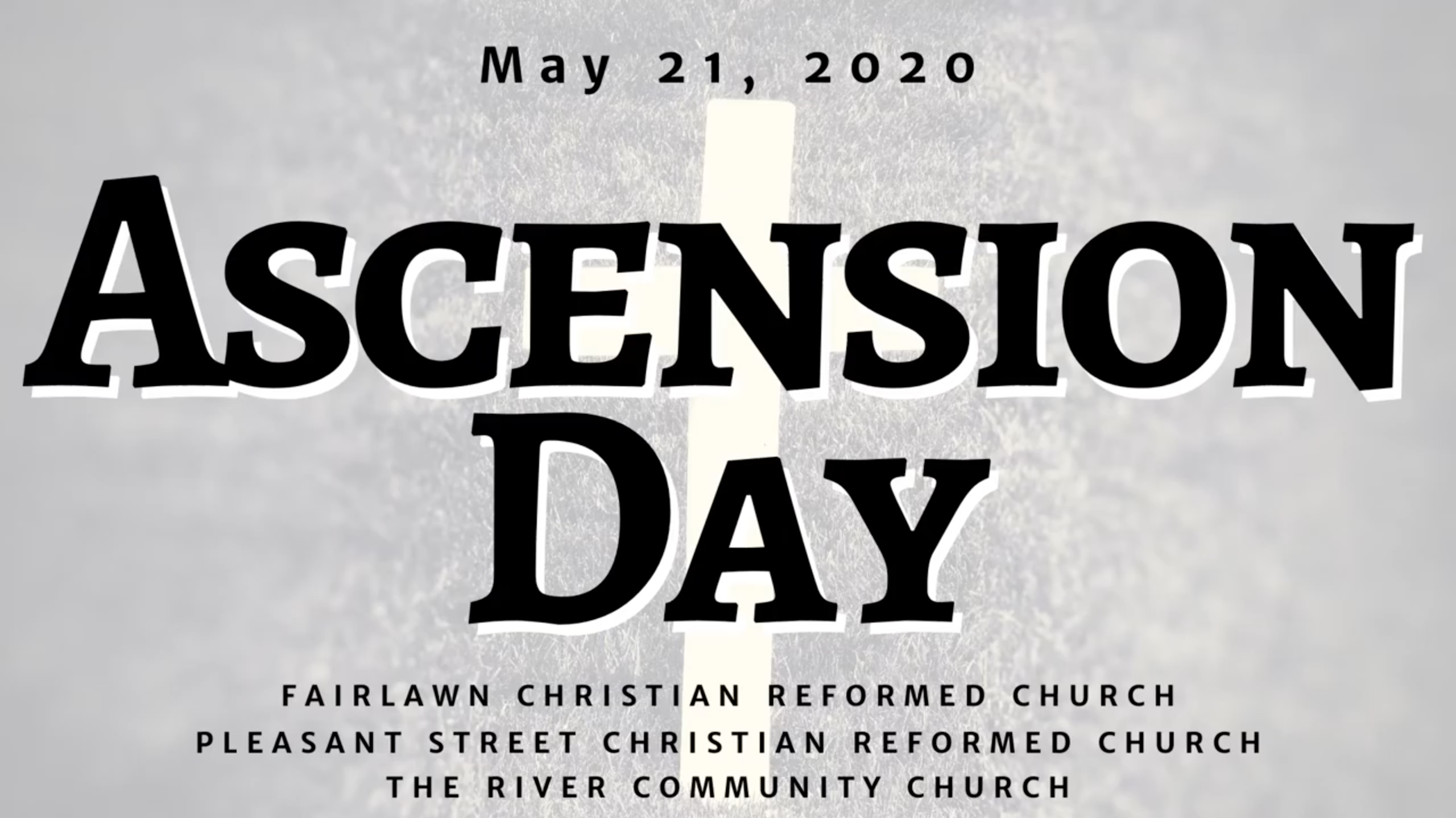 Ascension Day 2020 banner