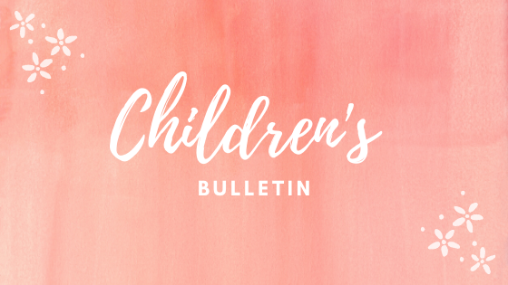 Children's bulletin button