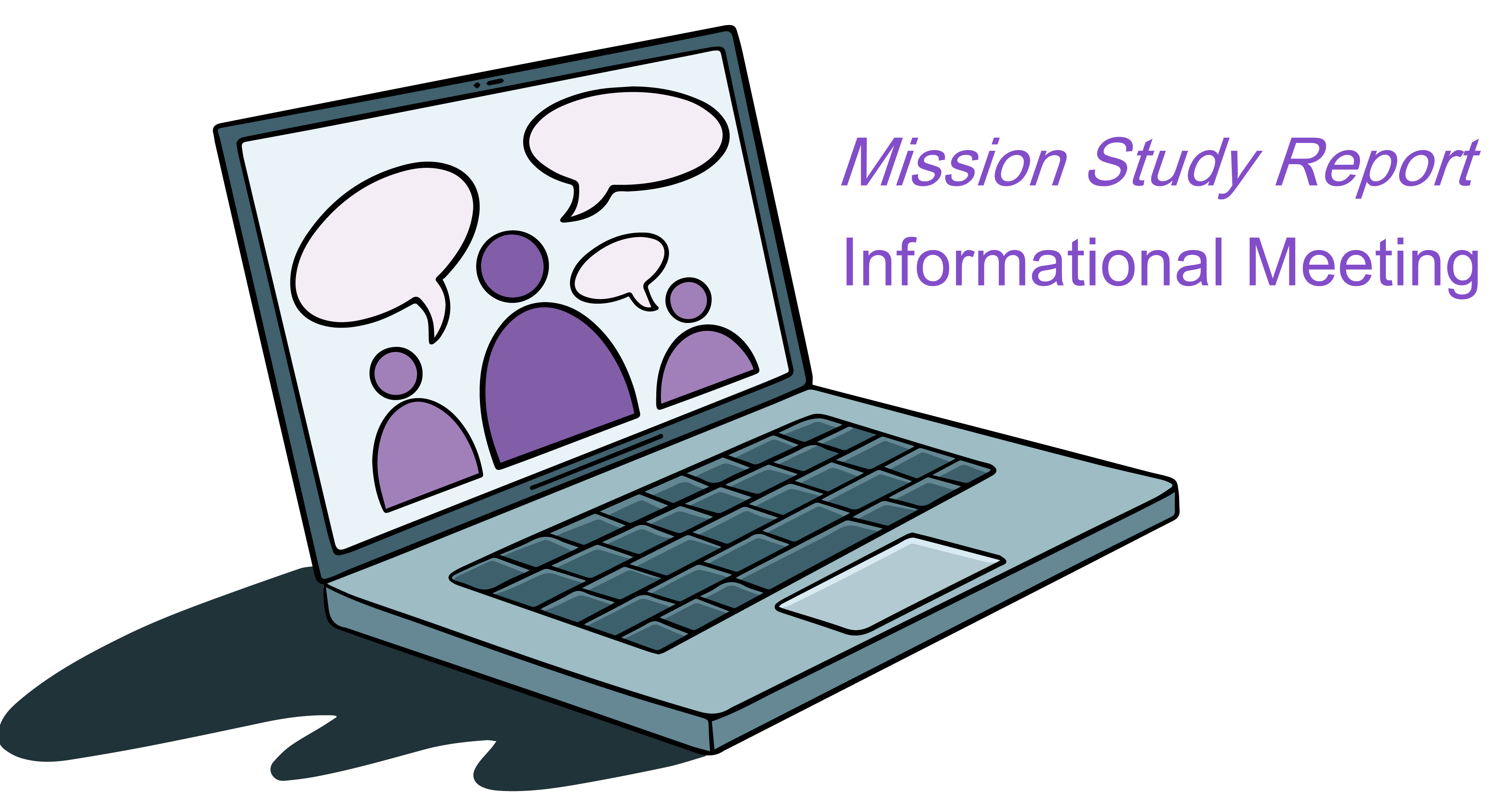 Mission Study Report Info Meeting clipart image