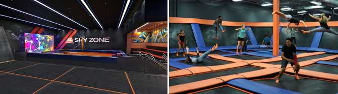 Skyzone Event for Youth banner
