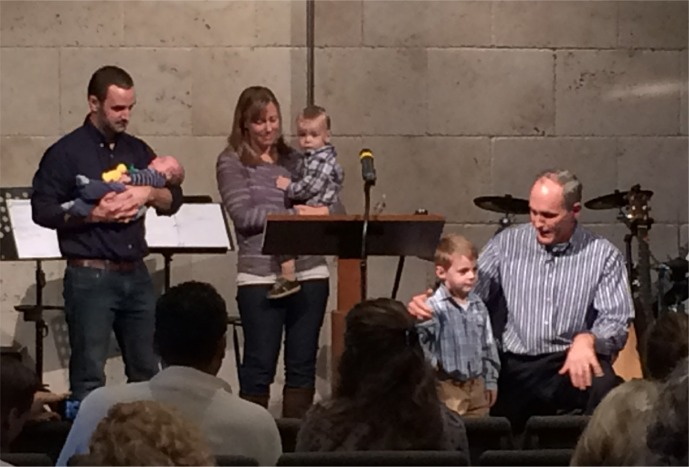 Schambach Child Dedication