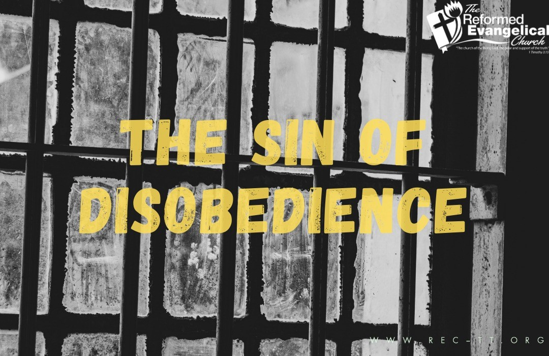 sin of disobedience