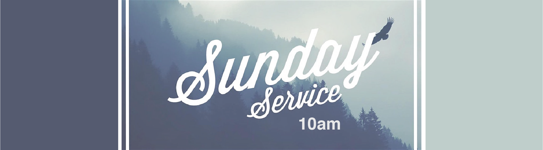 Sunday Worship banner