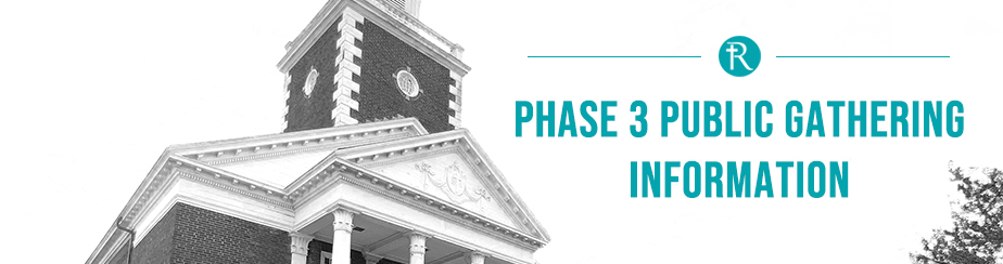 Phase 3 Sunday Service Guidelines banner