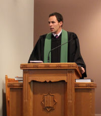 Scott in Pulpit Website