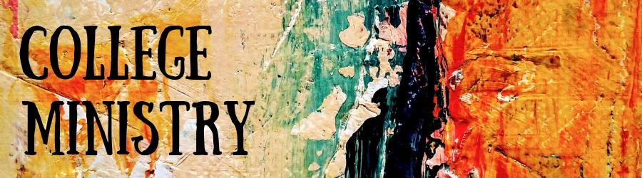 College Ministry banner