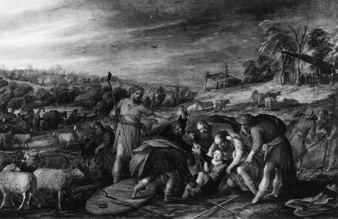 David_Colyn_-_Joseph_Thrown_into_a_Pit_-_Walters_372434
