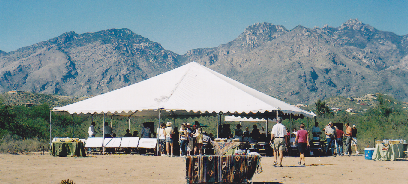 tent gathering