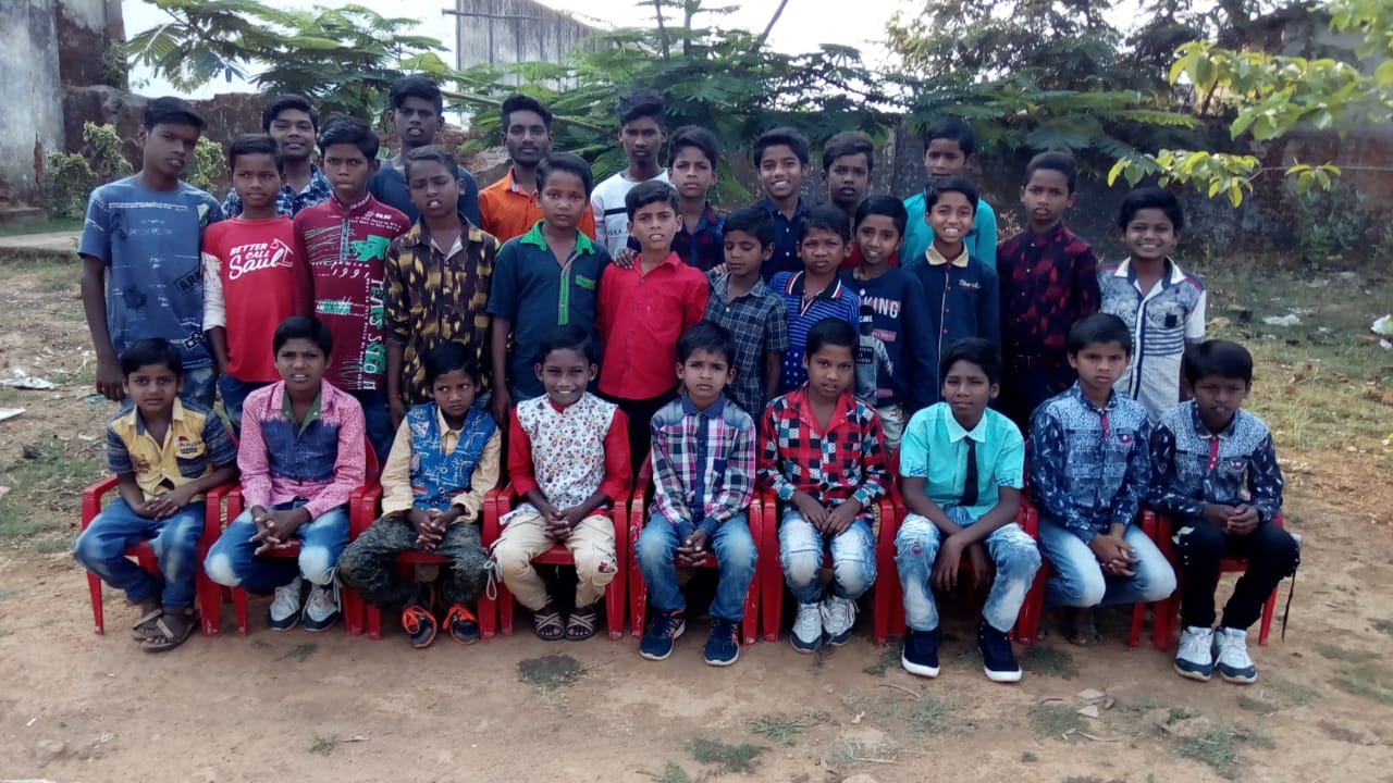 Boys from Odisha Children's Home