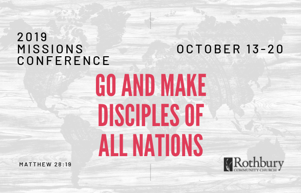 Featured Blog - 2019 Missions Conference image