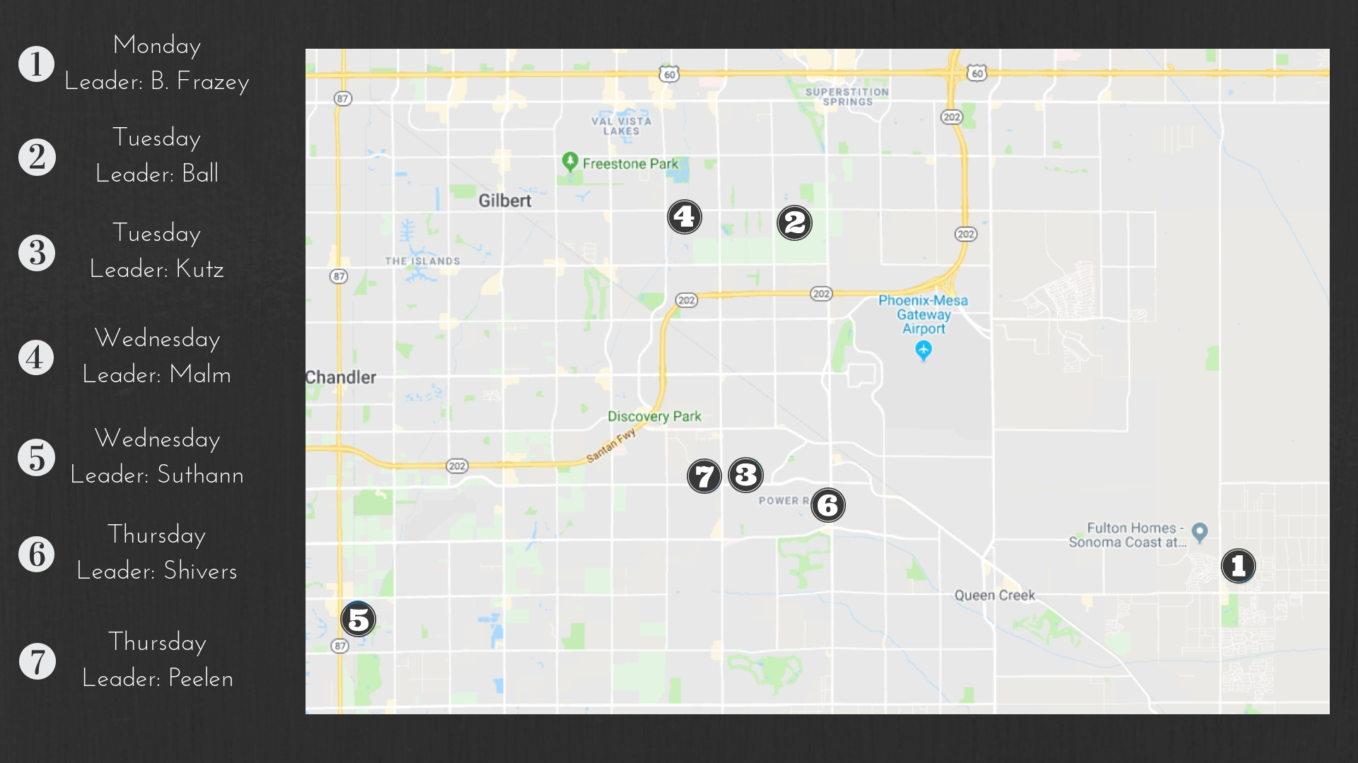Home Groups Map 2019 -PPT