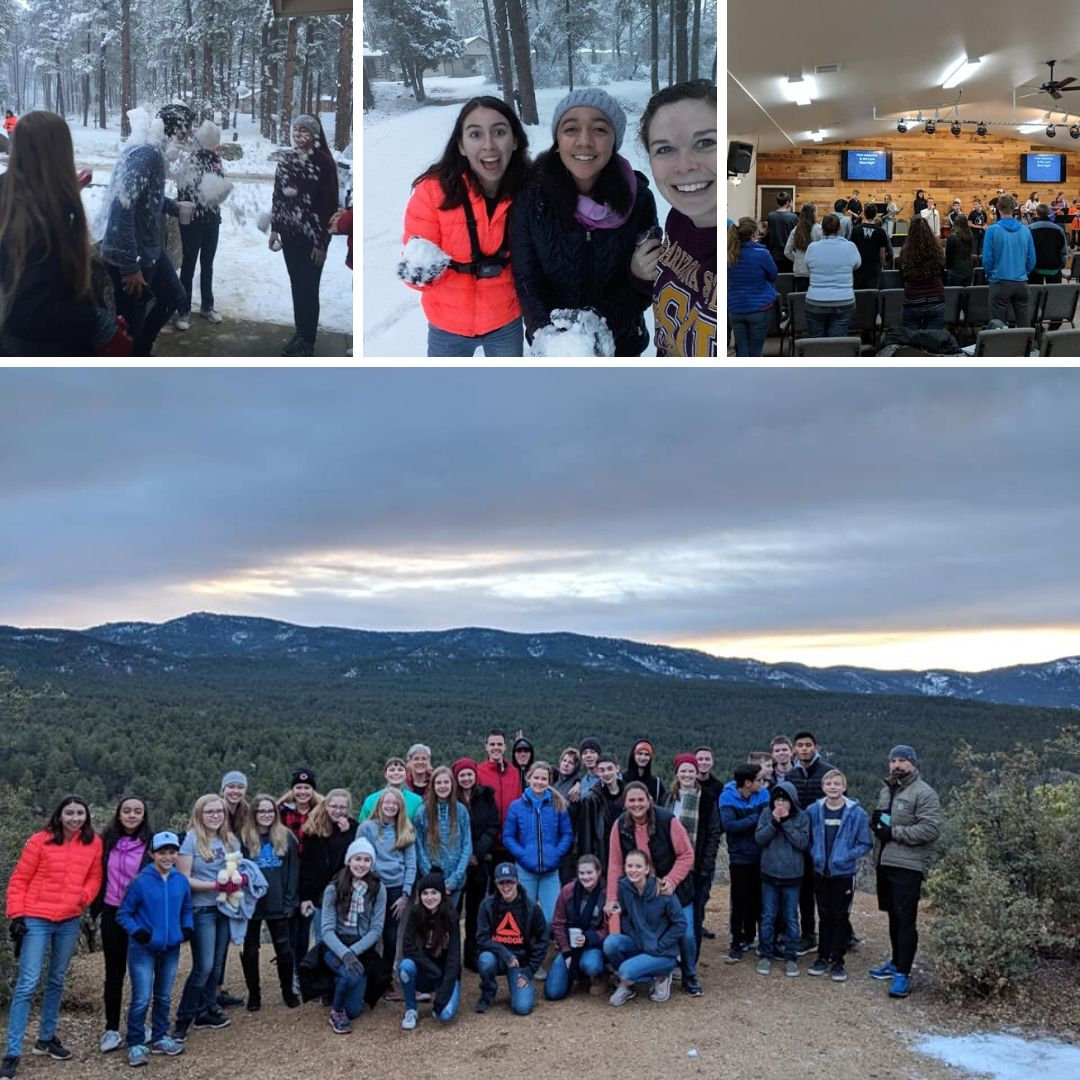 Winter Camp Collage